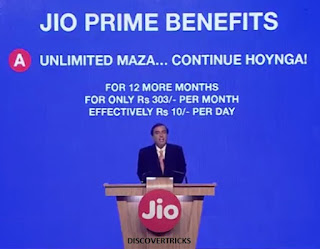 Jio Prime Offer