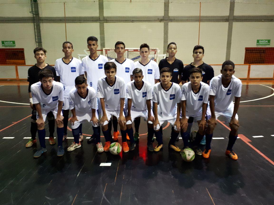 a39b4da6f8cfe A equipe sub-16 de futsal masculino doo Time Jundiaí venceu por 8 a 1 o  Primus de Paulínia na tarde deste sábado