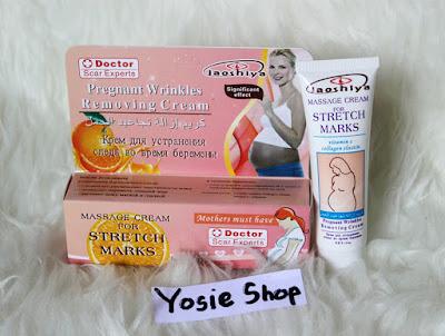 Laoshiya Cream Asli Penghilang Stretch Mark dalam 2 Minggu