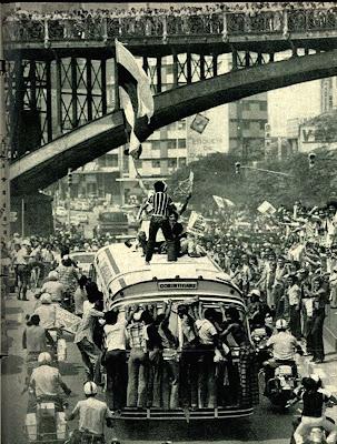 corinthians década de 70, Torcida do Corinthians anos 70,