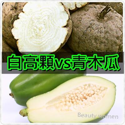 白高顆VS青木瓜吃什麼豐胸最好