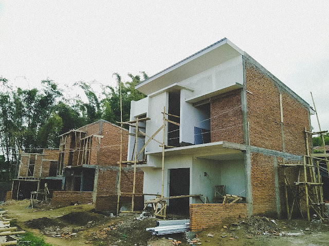 Progres pembangunan perumahan vila Exotic Panderman Hill bulan Oktober 2017.