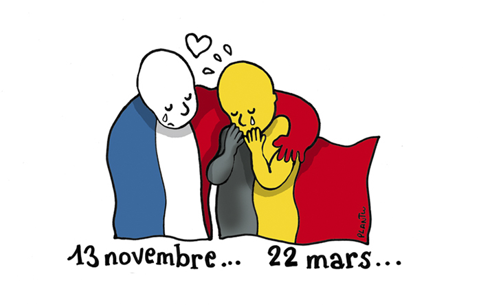 #PrayForBrussels Let's Show The World That We Are UNITED! - #2 22 March In Brussels