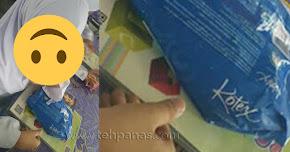 Thumbnail image for Cikgu Terkejut Pelajar Bawa 'Kotex' Dalam Kelas, Tapi Bila Dibuka, Rupa-Rupanya…