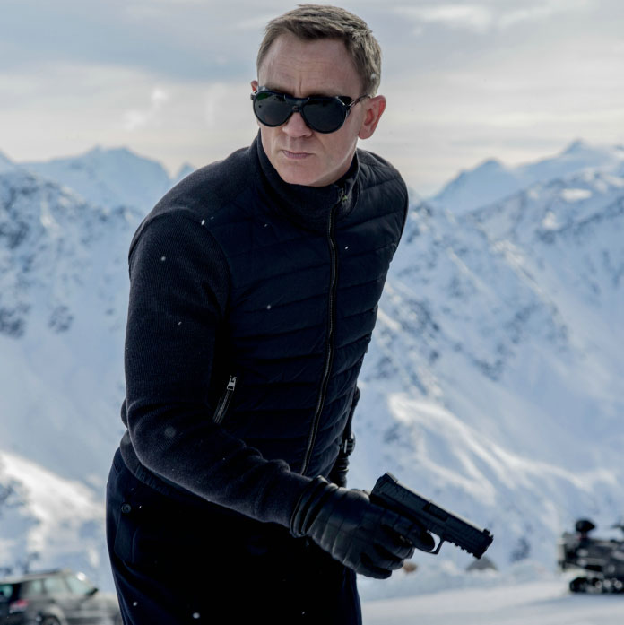 Who makes Daniel Craig's sunglasses in Spectre? Vuarnet, that's who