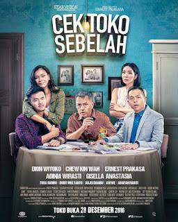 Film Komedi Cek Toko Sebelah (2016) Full Movie HD