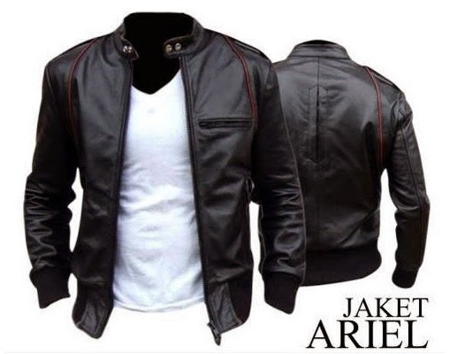 Gambar Leather Jacket Ariel Noah