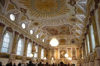 Interior de la Bürgersaal.