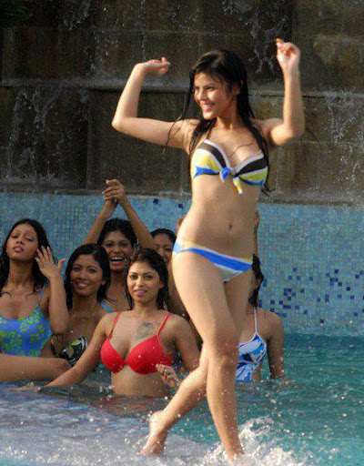 Telugu All Images Heroine Swimsuit-5808