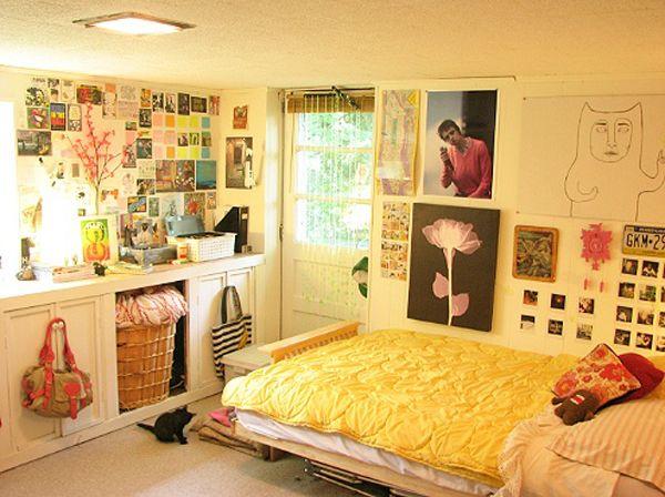 Habitaciones juveniles para espacio peque o dormitorios - Colores para dormitorios pequenos ...