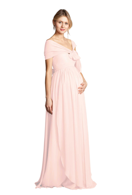 e1b038771fc4 Vow To Be Chic, designer bridesmaid dress rental company, has launched a  new maternity bridesmaid dress by Jenny Yoo available to rent or purchase  on their ...