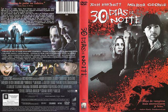 Capa DVD 30 DIAS DE NOITE