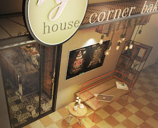 Free Sketchup Model - Coffee & Bakery Shop