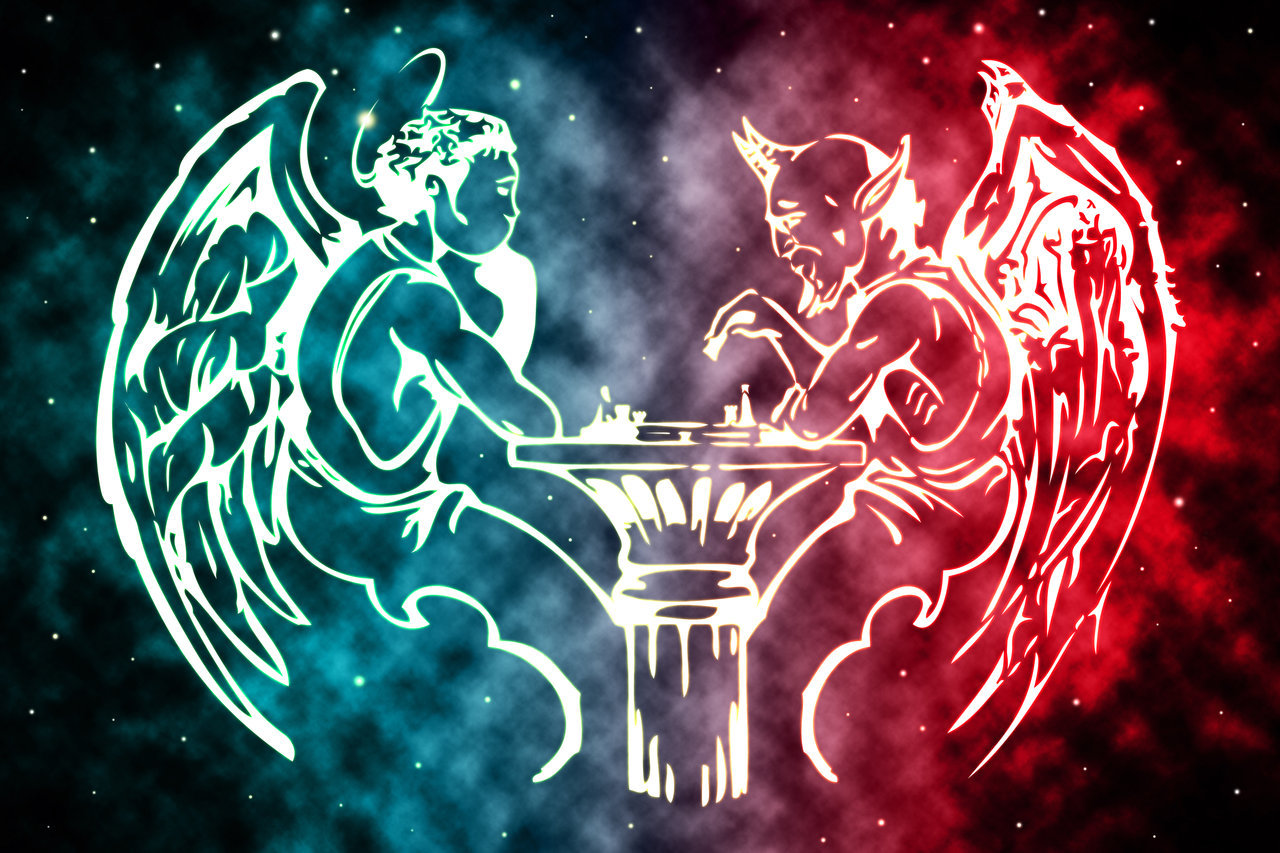 angel vs devil - HD1280×853