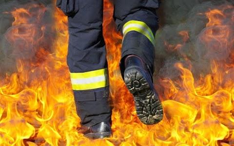 Újabb tűz keletkezett Kisújszálláson: ugyanabban a házban csaptak fel a lángok