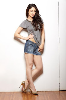 Sandeepa Dhar In Short And Top 2