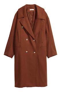 Manteau en laine beige H&M