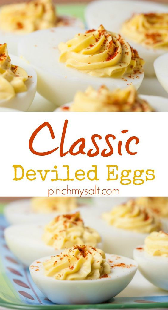 NICOLE'S BEST BASIC DEVILED EGGS