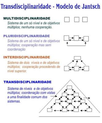 """Transdisciplinaridade: Bom para exercitar a VISÃO """"ALARGADA"""""""