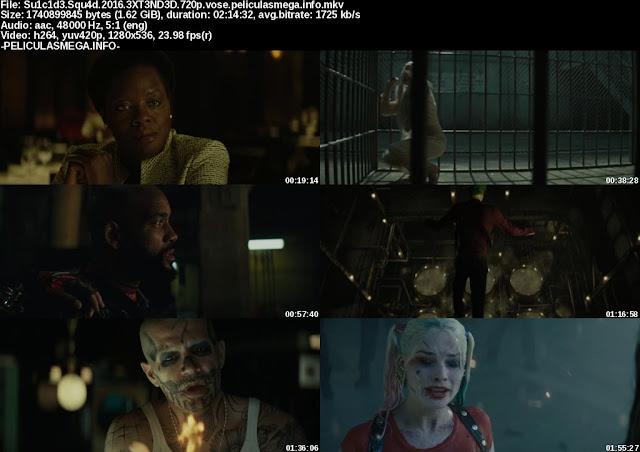 Descargar Suicide Squad Extended Subtitulado por MEGA.