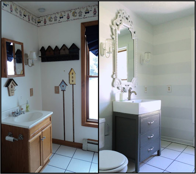 How To Do A Bathroom {on A Budget}
