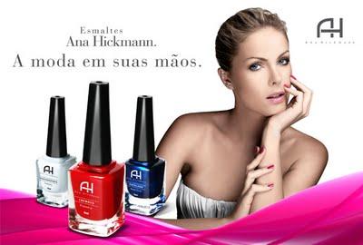 730fa238472f5 Ana Hickmann News  Ana Hickmann lança esmaltes Premium !