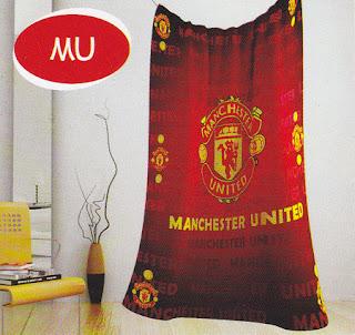 selimut Kintakun Flannel Manchester United