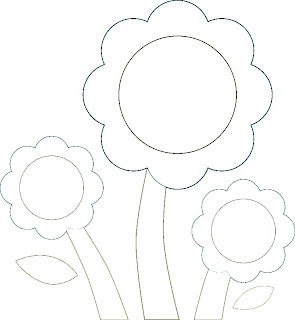 preschool garden flowers coloring pages - photo#34