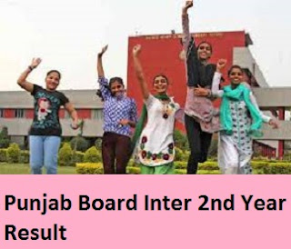 Punjab Board Inter 2nd Year Result 2017