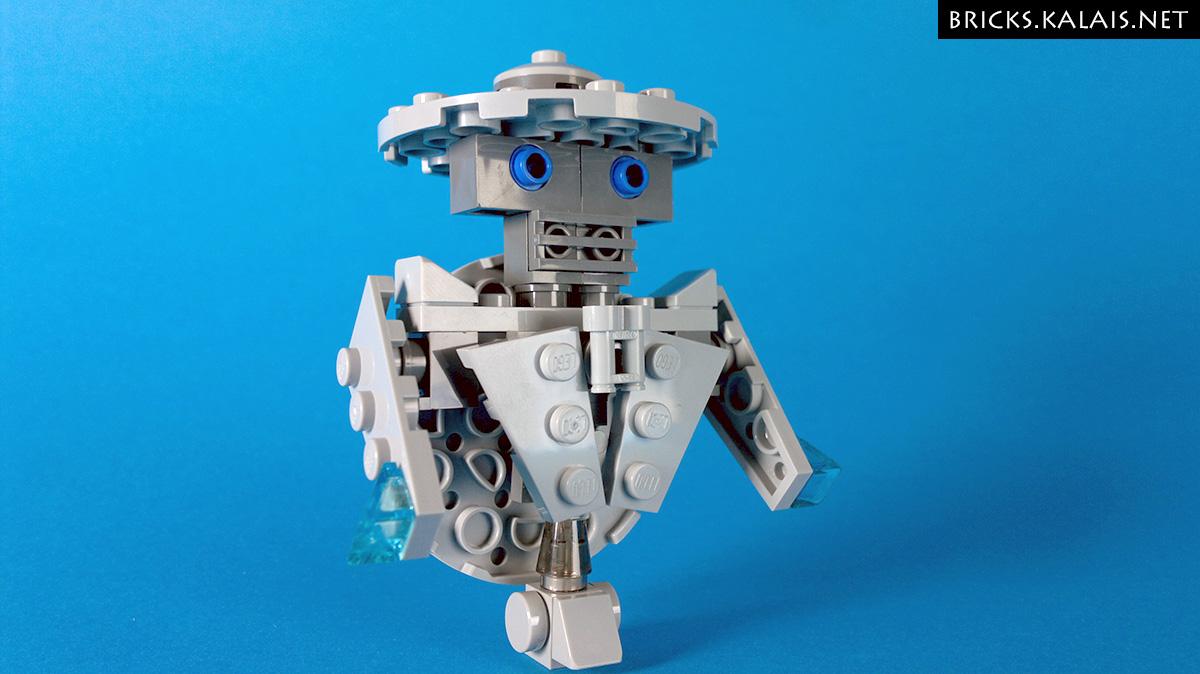[MOC] Robot in hat: LEGO 911607 MOD
