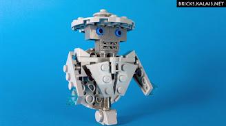 [MOC] Robot w kapeluszu: MOD zestawu LEGO 911607