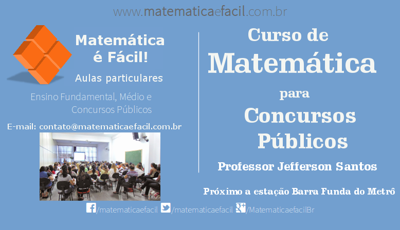 Curso de Matemática para Concursos Públicos