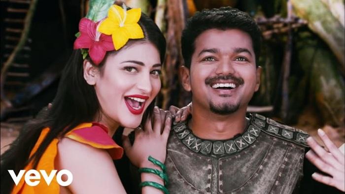 Jingiliya Video Song Download Puli 2015 Tamil