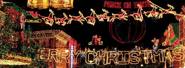 Christmas Light Facebook Cover