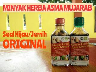 Minyak asma original tiruan seal hijau seal putih tutup merah