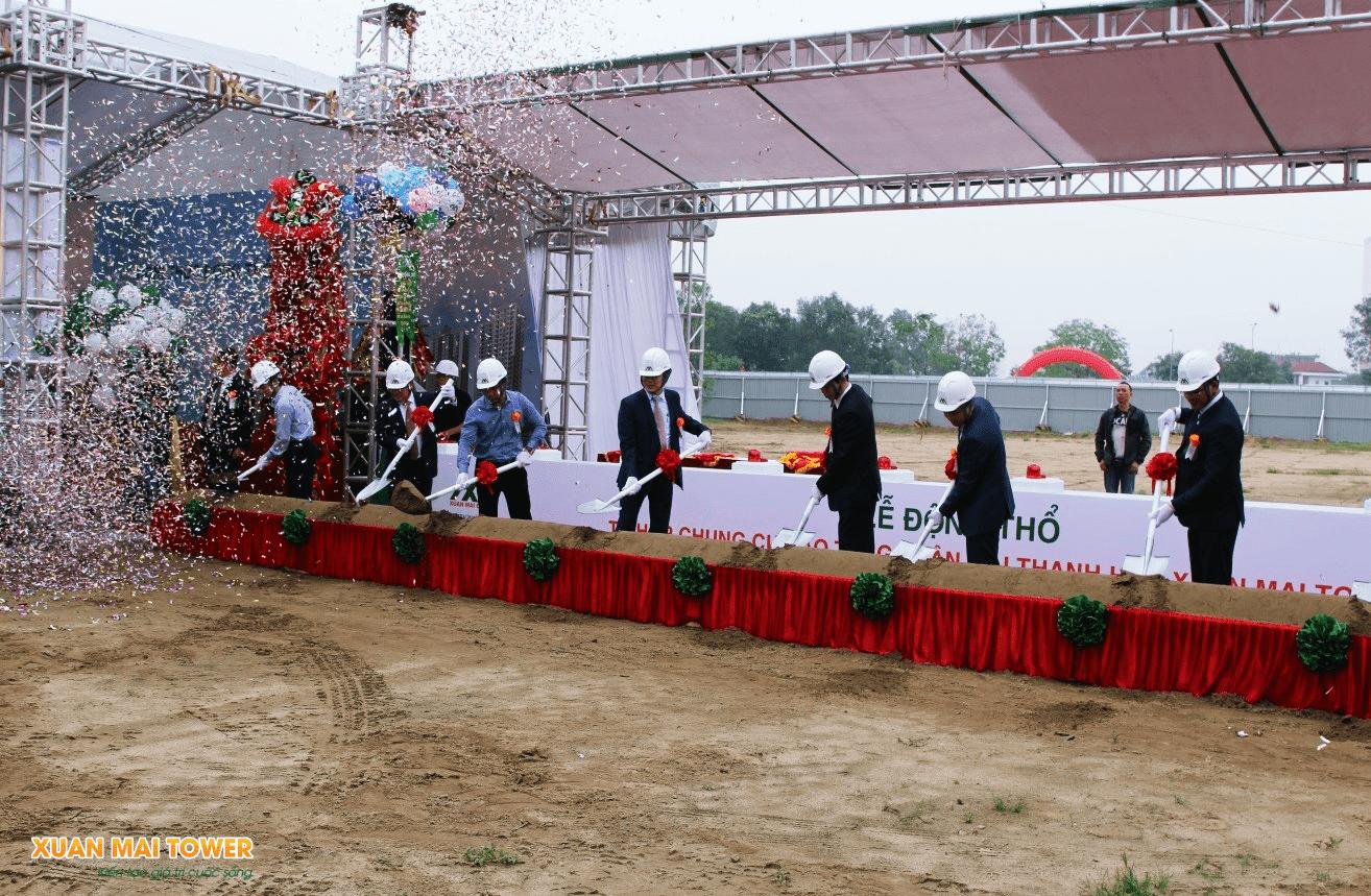 Lễ động thổ dự án Xuân Mai Tower Thanh Hoá