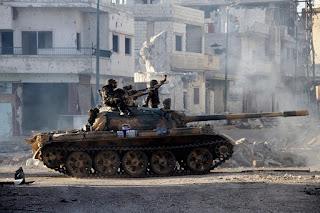 Militer Pro Assad Ancam Para Pemberontak Untuk Segera Angkat Kaki dari Aleppo - Commando