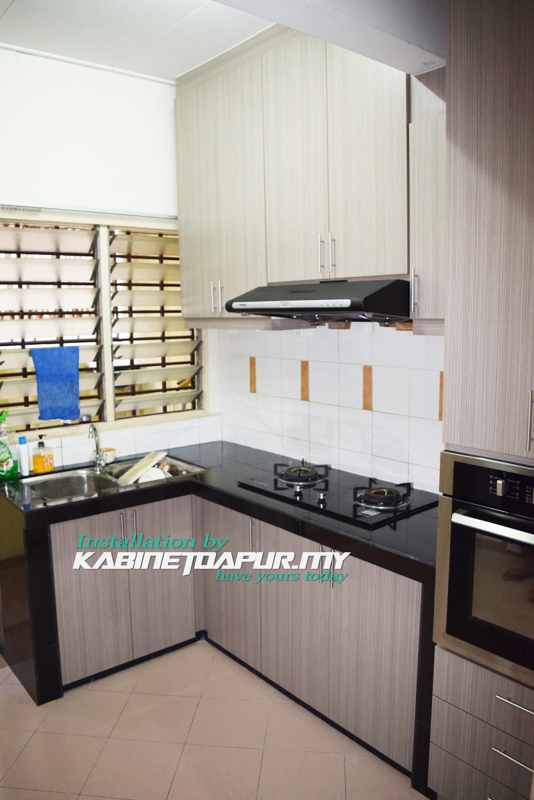 Kabinet Dapur Klang Desainrumahid