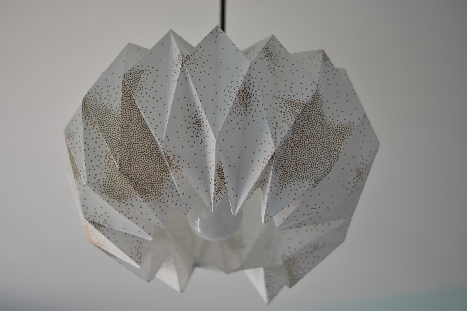Urban Influences Origami Pendant Light Fitting