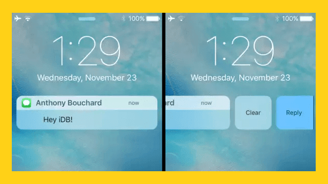 notifications10 Incorporates your style notifications iOS10 with Notifications10 Technology