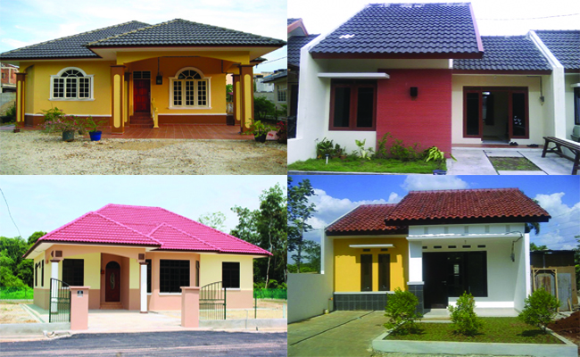 6800 Koleksi Gambar Rumah Sederhana Gerbang HD Terbaru