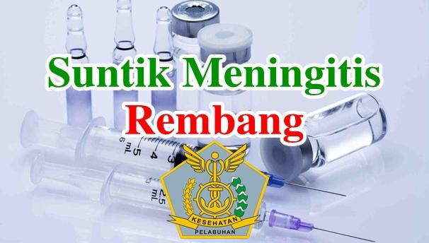 Alamat Tempat Suntik Vaksin Meningitis di Rembang