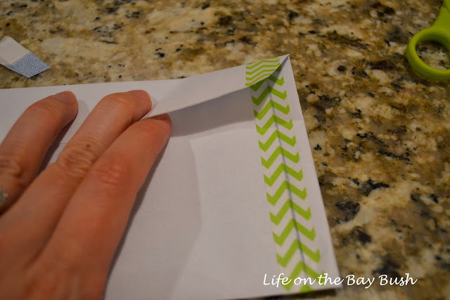 DIY 4x6 party invite envelopes