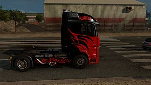 MB Actros MP4 Super Star skin