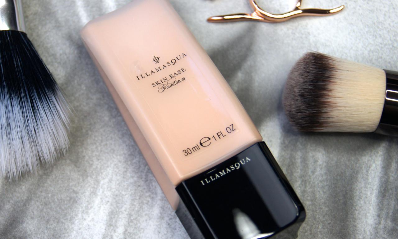 illamasqua skin base foundation high coverage review