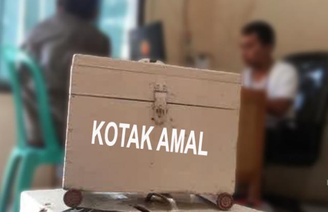 Pecatan TNI Curi Kotak Amal, Nih Tampangnya
