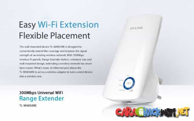 Cara Setting TP-Link TL-WA850RE 300Mbps