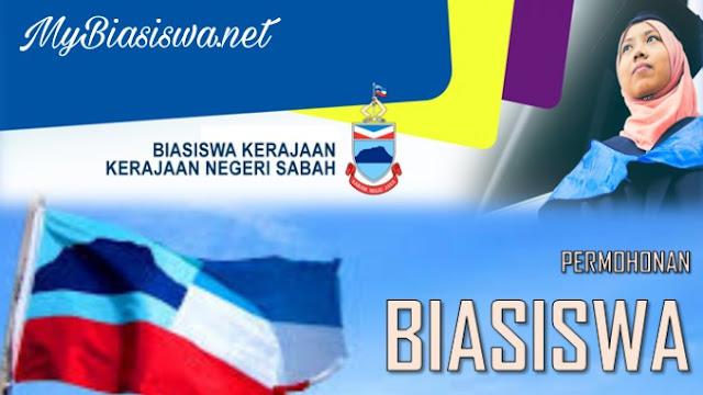 Biasiswa Kerajaan Negeri Sabah 2018 Online