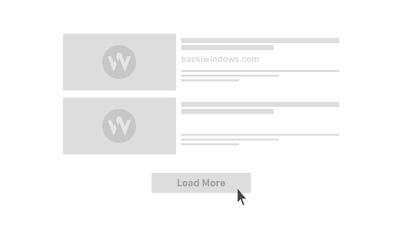 Tạo phân trang bằng nút Load More sử dụng Ajax javascript cho Blogspot
