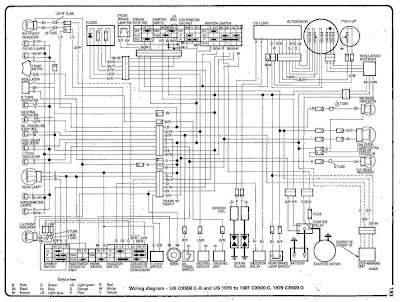 Cafe Racer Wiring Kick Only together with Motogadget Wiring General Setup X furthermore Cb Wiring Diagram Cb Electrical Diagram Cb Pinterest Cb Honda also  likewise Honda Cx Custom. on 1981 honda cx500 wiring diagram